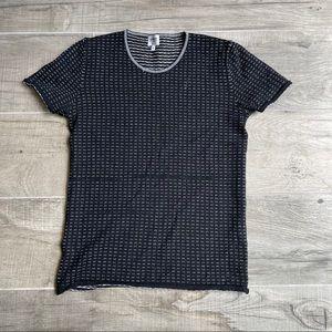 Armani Collezioni merino wool T-shirt top